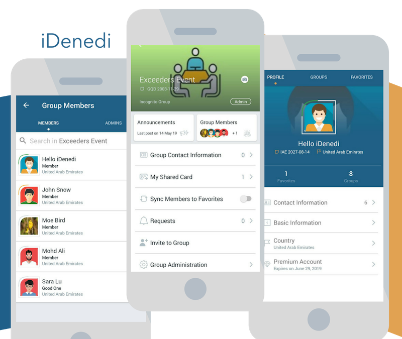 How can you benefit from iDenedi during the events?