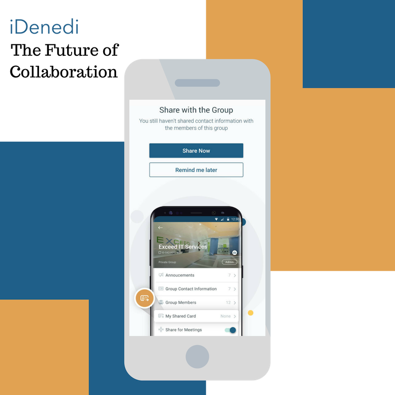 The Future of Collaboration - iDenedi App